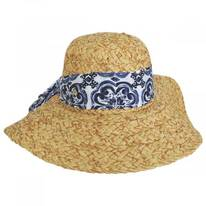Citron Toyo Straw Swinger Hat