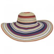 July Toyo Straw Blend Swinger Sun Hat