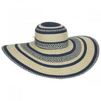 Camila Toyo Straw Blend Swinger Sun Hat