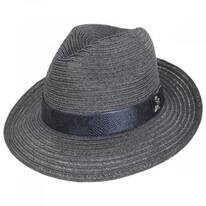 Avant Gard Hemp Straw Fedora Hat