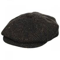 Magee Donegal Tweed Herringbone Wool Blend Newsboy Cap