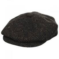 Magee Donegal Tweed Herringbone Wool Blend Newsboy Cap