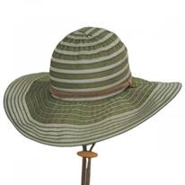 Ribbon Floppy Chincord Sun Hat