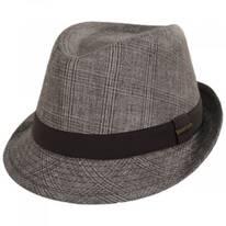 Keeper Plaid Irish Linen Fedora Hat