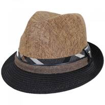 Roxbury Toyo Straw Blend Fedora Hat