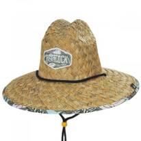 Oasis Straw Lifeguard Hat