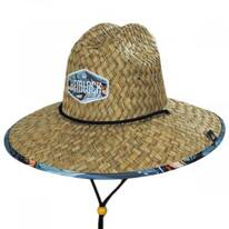 Reel Straw Lifeguard Hat