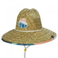 Hi Tide Straw Lifeguard Hat