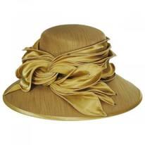 Satin Twist Shantung Dress Hat