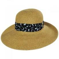 Musical Note Toyo Straw Sun Hat