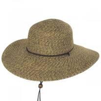 Heather Toyo Straw Sun Hat