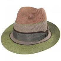 Chagall Hemp Straw Fedora Hat