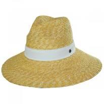 Sasa Milan Straw Fedora Hat