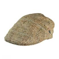 Herringbone Plaid Silk Ivy Cap