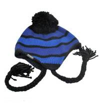 Alpine Run Knit Peruvian Beanie Hat