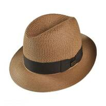Madison Milan Straw Fedora Hat