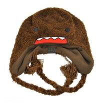 Domo Face Knit Peruvian Beanie Hat
