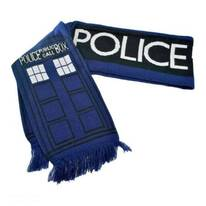 Dr. Who TARDIS 6 Foot Long Scarf