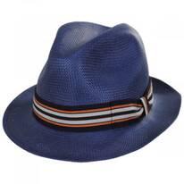 Orleans Toyo Straw Fedora Hat