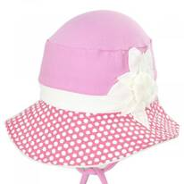 Kids' Eco Pink Cotton Blend Sun Hat