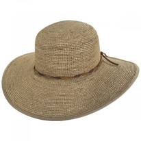 Desert Sun Raffia Straw Swinger Sun Hat
