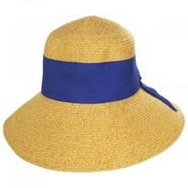 Big Bow Braided Toyo Straw Sun Hat