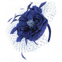 Alexandria Sinamay Straw Fascinator Hat