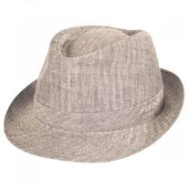 Osceola Linen Fedora Hat