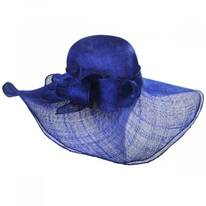 Beechmont Sinamay Straw Swinger Hat