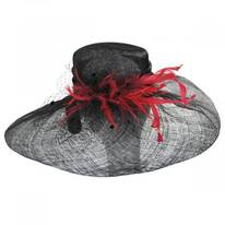 Hazelwood Sinamay Straw Swinger Hat