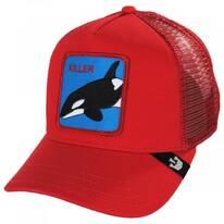 Killer Whale Mesh Trucker Snapback Baseball Cap