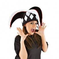 Harlequin Jester Hat