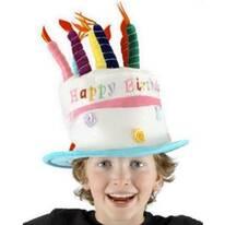 Kids' Rose Birthday Cake Hat