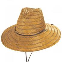Bells Copper Straw Lifeguard Hat