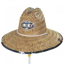 Revolution Straw Lifeguard Hat