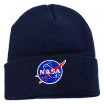 Cuffed NASA Knit Beanie Hat