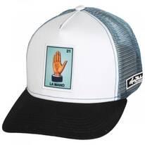 Loteria La Mano Snapback Trucker Baseball Cap