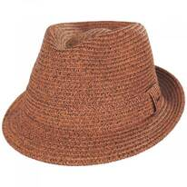 Billy Braided Toyo Straw Fedora Hat