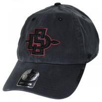 SDSU Aztecs Clean Up Strapback Baseball Hat