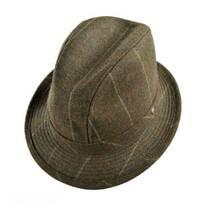 Overcheck Lambswool Walking Fedora Hat