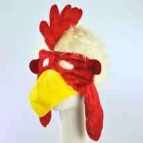 Chicken Face Mask Hat