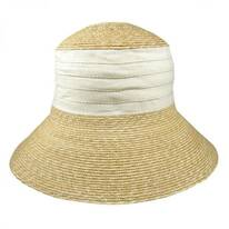 Packable Wheat Straw Sun Hat