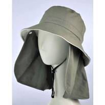UV Protection Detachable Flap Bucket Hat