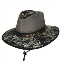 Break-Up Mesh Cotton Aussie Hat