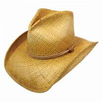 Stampede Raffia Straw Western Hat