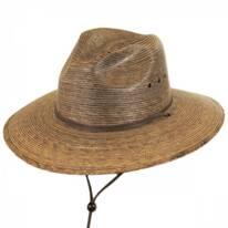 Rustic Palm Leaf Hat