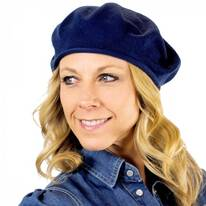 Cotton Beret - 11.5 inch Diameter