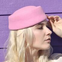 Posey Wool Pillbox Hat
