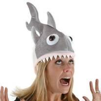 Man Eatin' Shark Hat
