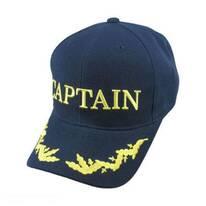 Captain Snapback Baseball Cap - Navy Blue